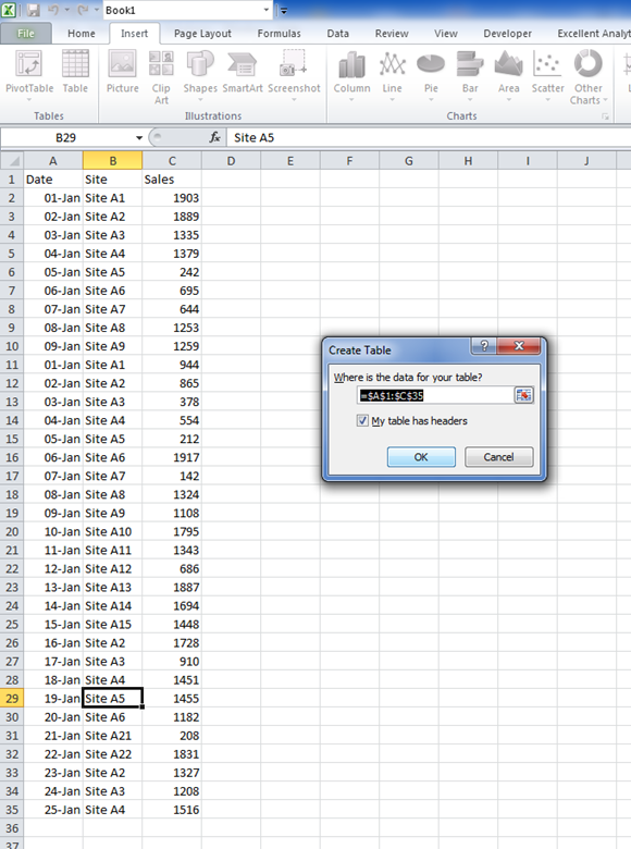 insert pdf file into word table